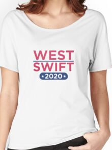 Kanye West for President & Taylor Swift for Vice President Women's Relaxed Fit T-Shirt