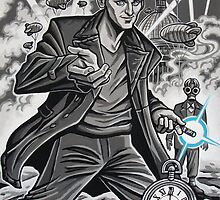 The Ninth Doctor by Raine  Szramski