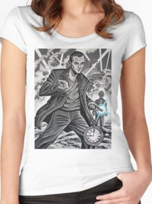 The Ninth Doctor Women's Fitted Scoop T-Shirt