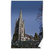 All Saints Church Poster