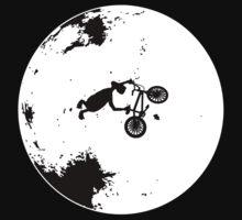 ET Extraterrestrial Moon BMX Trick by astropop