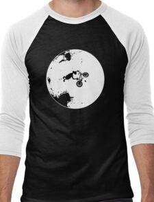 ET Extraterrestrial Moon BMX Trick Men's Baseball ¾ T-Shirt