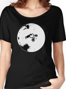 ET Extraterrestrial Moon BMX Trick Women's Relaxed Fit T-Shirt
