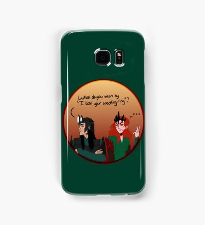 Melkor and sauron lost a ring Samsung Galaxy Case/Skin