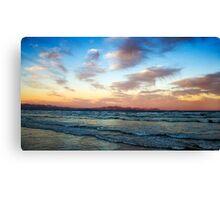 Muizenberg Sunset Canvas Print