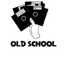 Retro Old School Floppy Disk Photographic Print