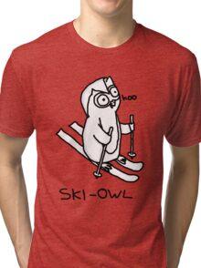 SKI-OWL Tri-blend T-Shirt