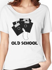 Retro Old School Floppy Disk Women's Relaxed Fit T-Shirt