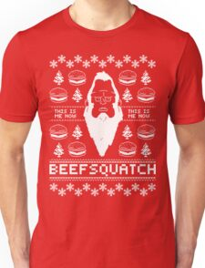 Ugly Holiday - Beefsquatch Unisex T-Shirt