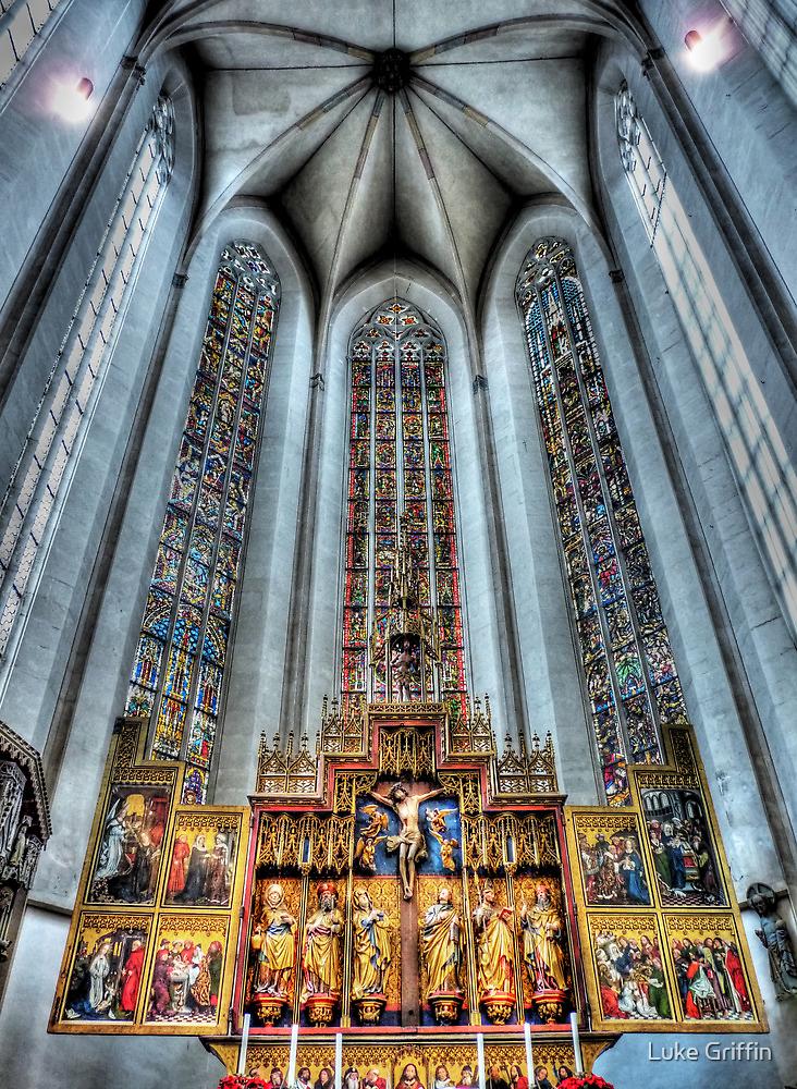 St. James Cathedral, Rothenburg ob der Tauber. by Luke Griffin