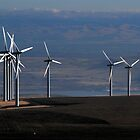Wind Mills of Eastern Washington by Dave Anderson