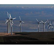 Wind Mills of Eastern Washington Photographic Print