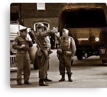 Dads Army  Canvas Print