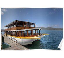 John Benn -- Floating Restaurant Knysna Poster