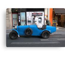 Paris - Bugatti. Canvas Print