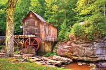 Glade Creek Mill  by Gregory Ballos | gregoryballosphoto.com