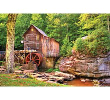 Glade Creek Mill  Photographic Print