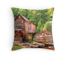 Glade Creek Mill  Throw Pillow