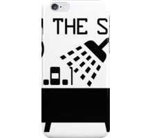 IP in the shower at home iPhone Case/Skin