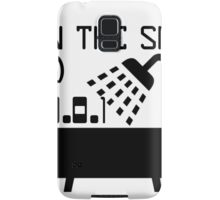 IP in the shower at home Samsung Galaxy Case/Skin