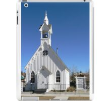Sheldon Jackson Memorial Chapel iPad Case/Skin