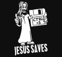 Jesus Saves Floppy Disk by astropop