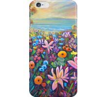 Belladonna & Poppies Beach iPhone Case/Skin