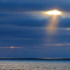 Sun Dogs on Lake Superior by loralea