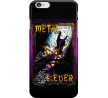 HEAVY METAL or METAL HORNS. iPhone Case/Skin