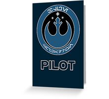 Star Wars Episode VII - Blue Squadron (Resistance) - Star Wars Veteran Series Greeting Card