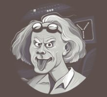 Doc Brown loves Einstein by Kari Fry
