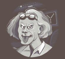 Doc Brown loves Einstein by Kari Fry