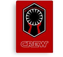 Star Wars Episode VII - The Finalizer (First Order) - Star Wars Veteran Series Canvas Print