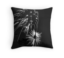 Firework 32 Throw Pillow