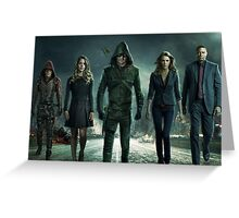 ARROW SEASON 3 | Team Arrow | Poster Greeting Card
