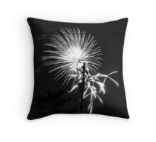 Firework 33 Throw Pillow