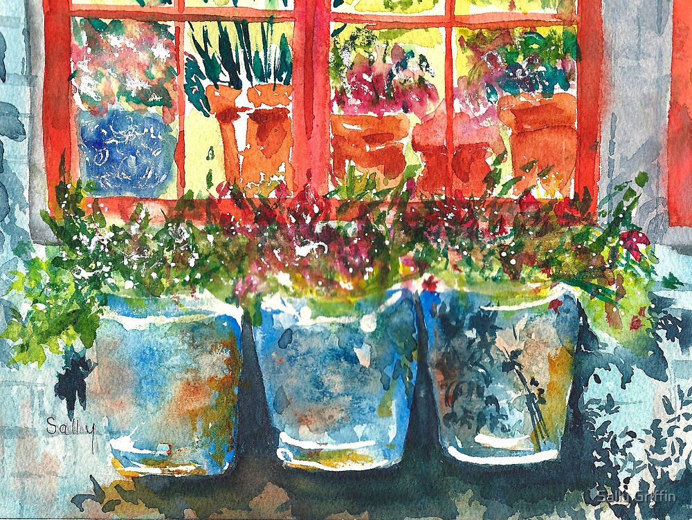 Outside My Window by Sally Griffin