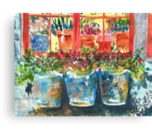 Outside My Window Canvas Print