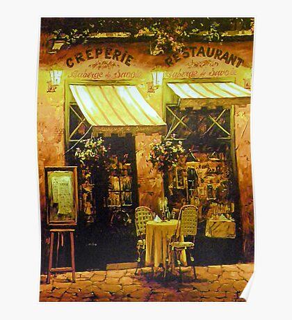 Creperie Restaurant Poster