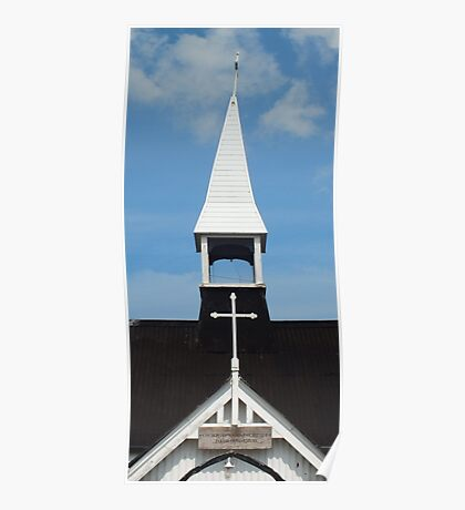 Tower of the Corrugated Church Poster