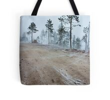 Arizona Snowstorm Tote Bag