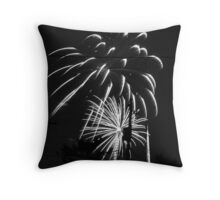 Firework 35 Throw Pillow