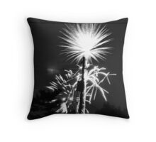 Firework 37 Throw Pillow
