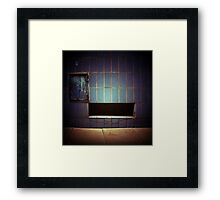 robot wall Framed Print