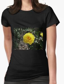 Sunlit Yellow Rose T-Shirt