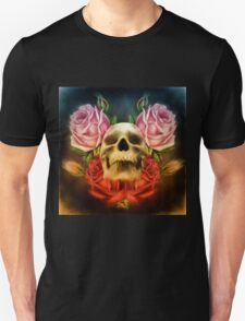 Skull And Rose's  T-Shirt
