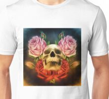 Skull And Rose's  Unisex T-Shirt