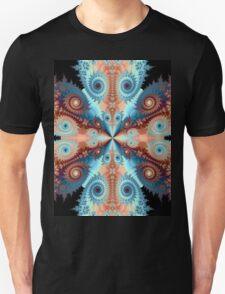 SWYRLS ORANGE BLUE # 2  T-Shirt