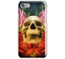 Skull And Rose's  iPhone Case/Skin