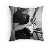 Strat Musings Throw Pillow